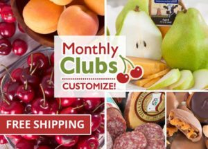 A Gift Inside Monthly Fruit Clubs
